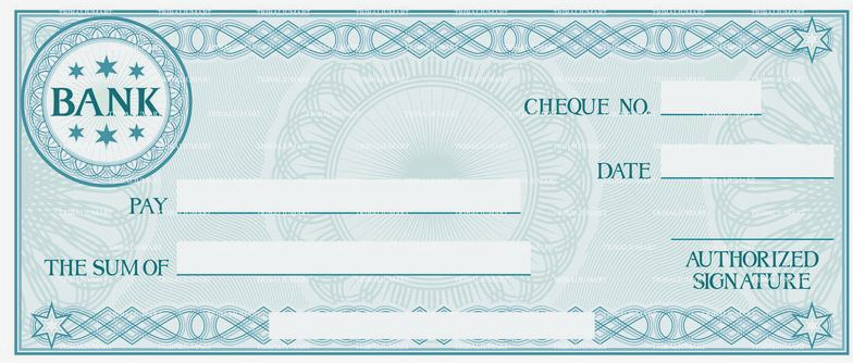 free blank check templates